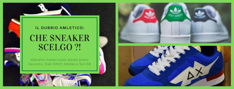 Sneakers Saucony, scarpe da ginnastica sun 68, Scarpe da tennis Adidas Stan Smith ? Ecco i modelli sneaker da uomo più comodi del momento