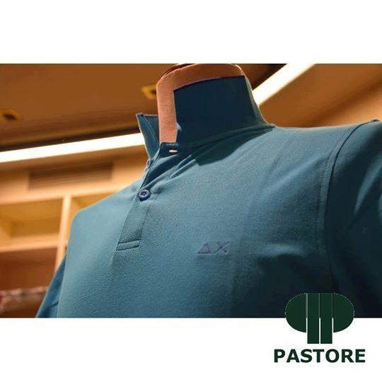 polo sun 68 da uomo azzurra genova negozio abbigliamento spedizione gratuita
