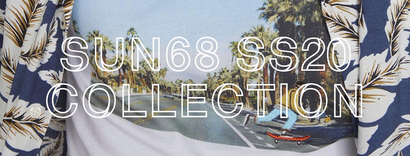 collezione sun 68 abbigliamento primavera estate 2020
