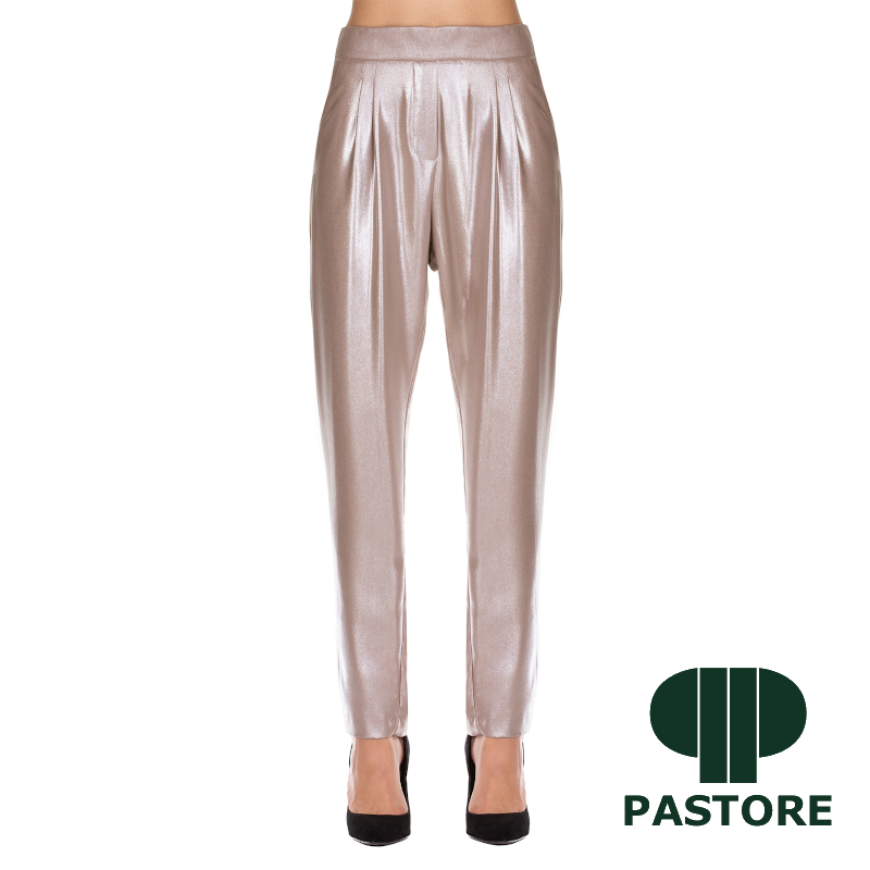 pantalone glitterato